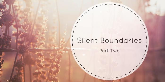 Silent Boundaries Part 2