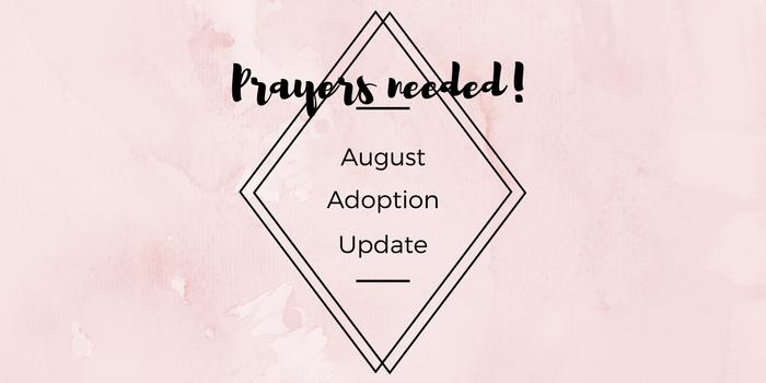 August Adoption Update