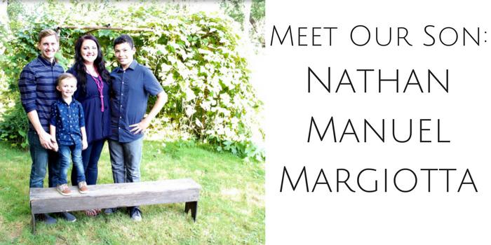 Meet Our Son: Nathan Manuel Margiotta