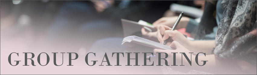 Group Gathering with Heather Margiotta